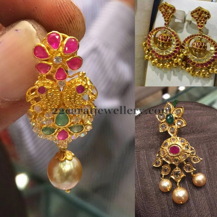 Antique Finish Ruby Chandbalis