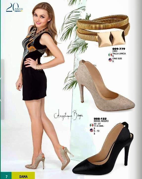 Zapatos terra con el talon descubierto PV 2015