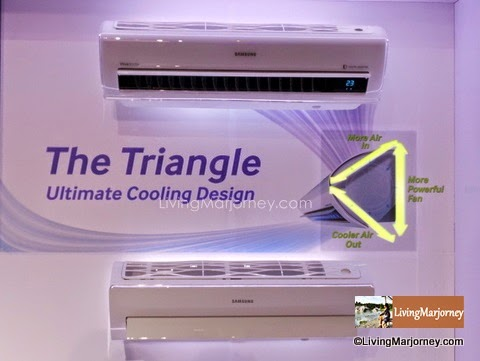 Air Conditioner With Triangle Design