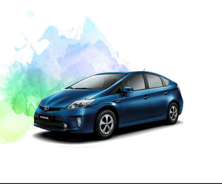 car i Toyota Prius 2013
