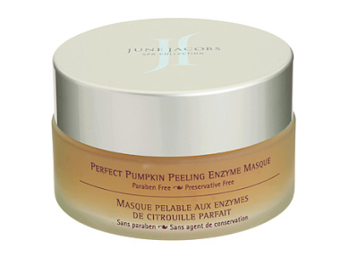 June Jacobs, June Jacobs Spa Collection Perfect Pumpkin Peeling Enzyme Masque, face mask, skin, skincare, skin care, Thanksgiving scents, pumpkin beauty products