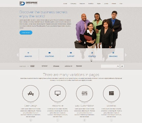 Enterprise Multipurpose Responsive Joomla Theme