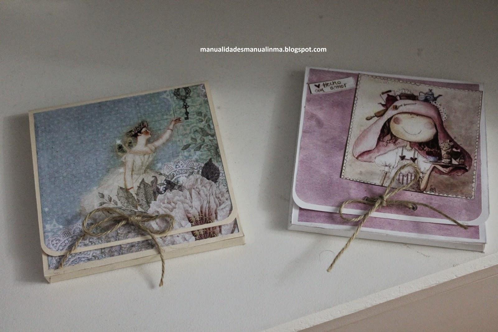 Manualinma cajas para guardar los cd o dvd - Para guardar cds ...