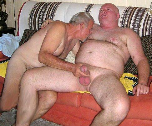 nude gay hairy men - daddy jeff - mature gay action pics - 2 old gay