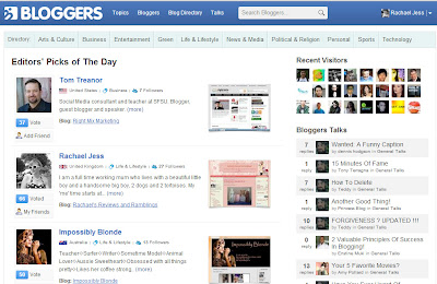The day I was featured on Bloggers.com website