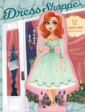 Dress Shoppe Paper Doll Notecards