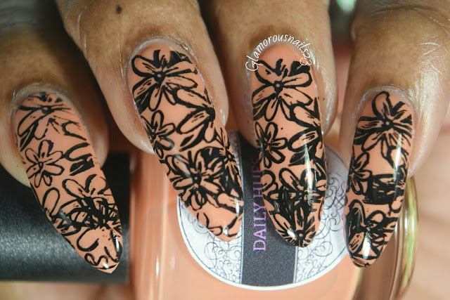 Stamping Nail Art Using Bundle Monster BM-XL112