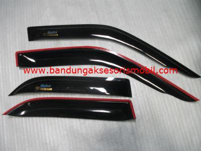 Talang Air Twin Cam 87-91 Original Black Depan Belakang