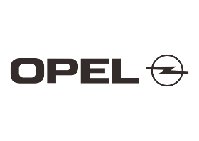 download Logo Opel (Design Black white) Vector