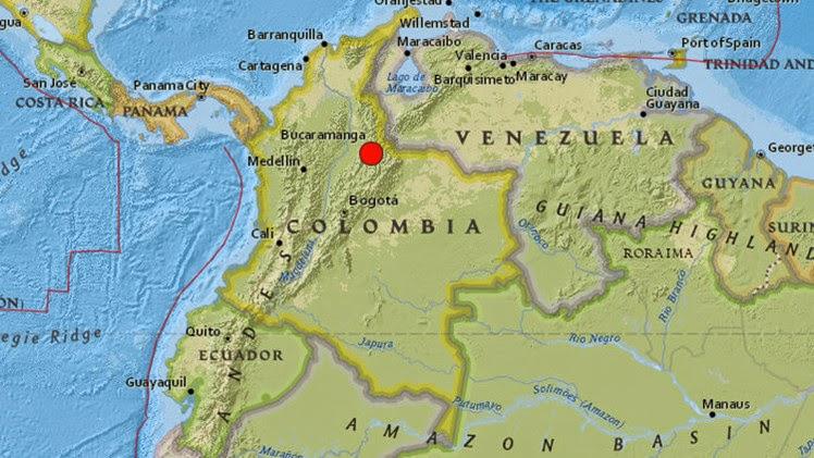TERREMOTO 6,6 GRADOS SACUDE COLOMBIA