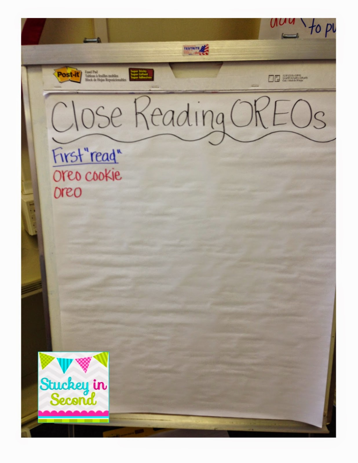 Stuckey in second close reading with oreos by primary polka dots obviously their responses were oreo cookie oreo and one kid actually said vanilla wafer gotta love it i didnt record that on the anchor chart because freerunsca Image collections