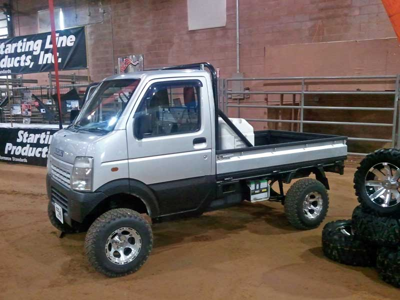 a suzuki carry for the dirt subcompact culture the small car blog. Black Bedroom Furniture Sets. Home Design Ideas