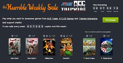 Nuevos juegos en el Humble Weekly Sale