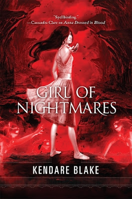 Book cover of Girl of Nightmares by Kendare Blake