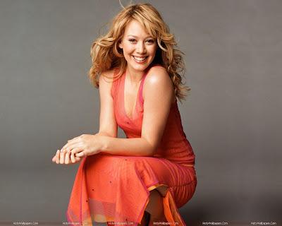 Hilary Duff Hollywood Singer Wallpaper