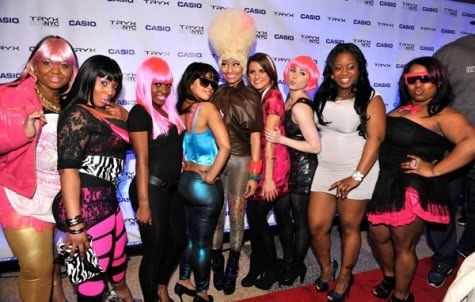 Nicki Minaj Look Alike Contest. a Nikki Minaj look a like