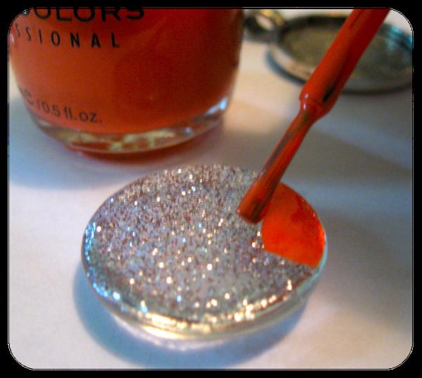 diy nail polish jewelry neon