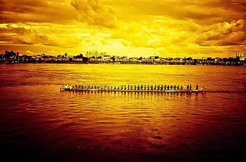 Festival del Agua en Camboya