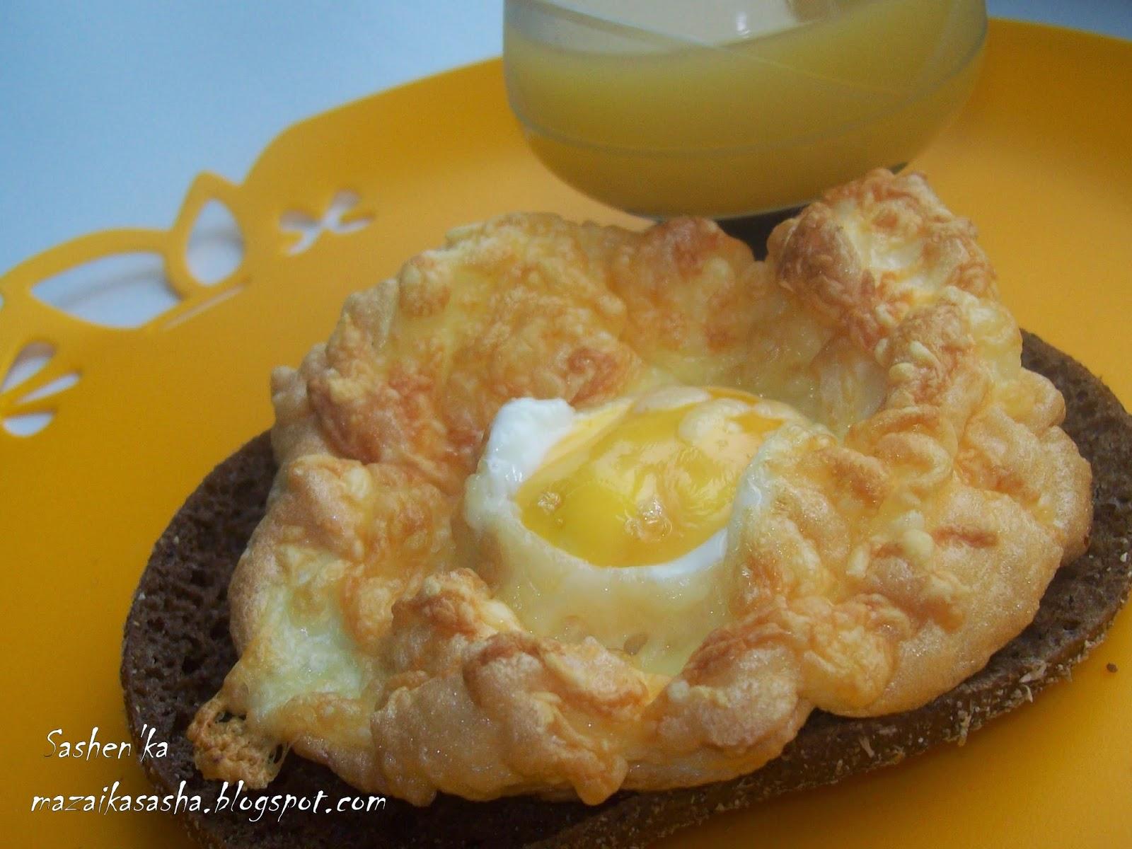 Гнезда с сыром рецепт