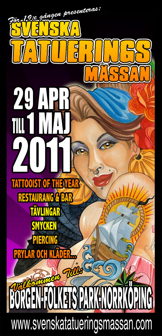 swedish tattoo. swedish tattoo convention