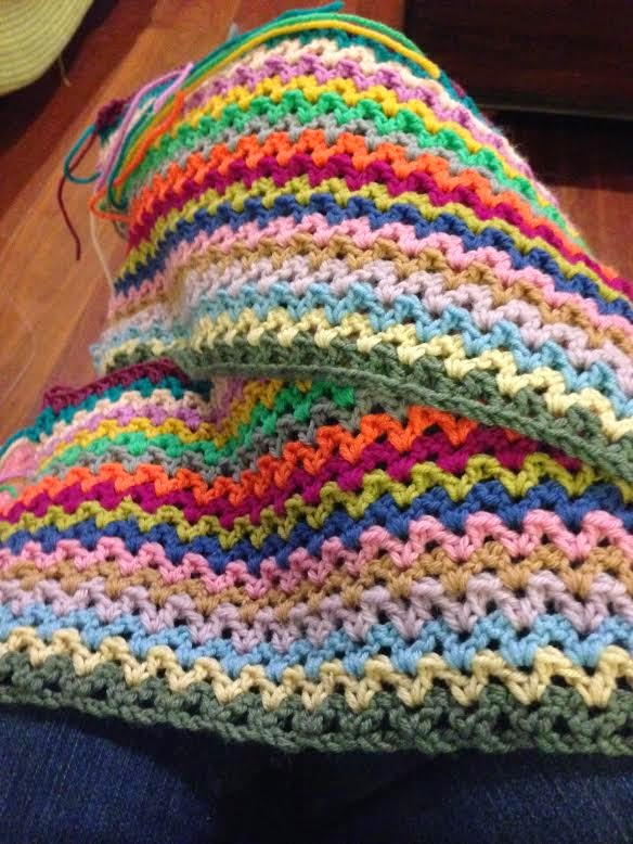 Crochet V Stitch : Purth Stitch Knit Witch: Crochet: V Stitch