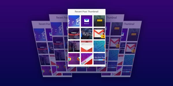 Cara Membuat Recent Post Hanya Gambar Valid HTML5