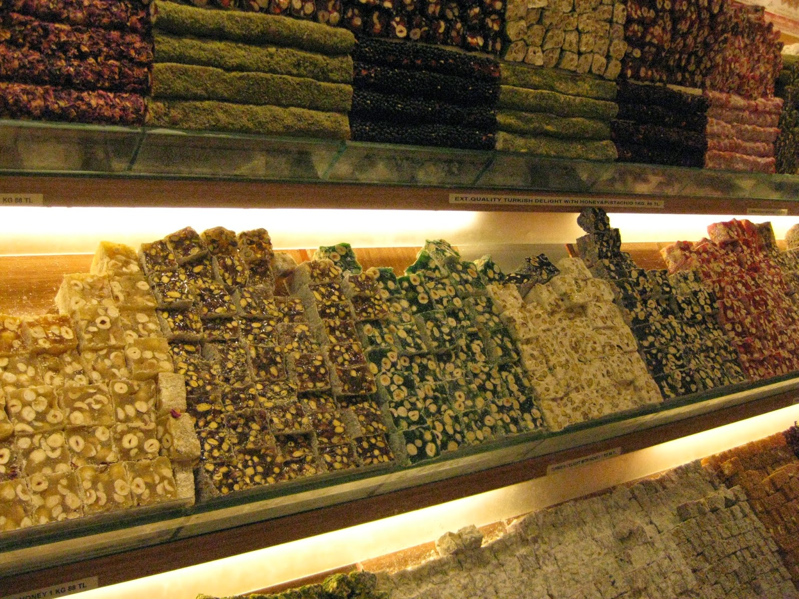 Istanbul - We picked up some Turkish Delight at the Grand Bazaar