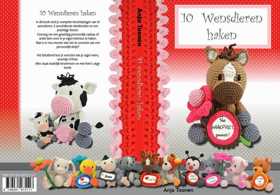 Mijn tweede boek: 10 Wensdieren haken