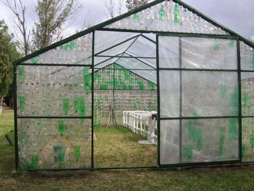 Flores en tu ensalada mini invernadero para tus plantitas - Fabricar un invernadero ...