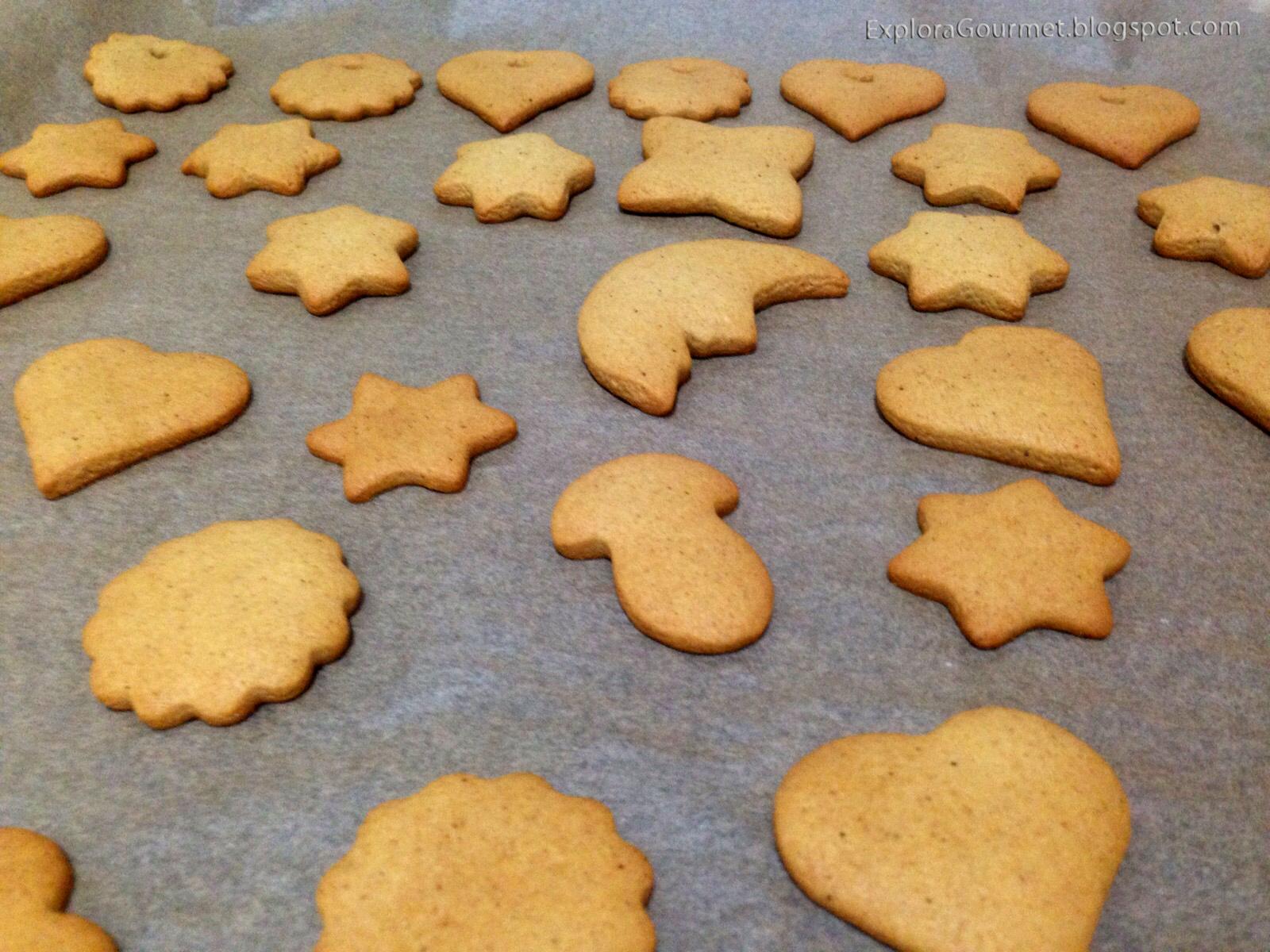 Galletas navideñas con especias - pierniki