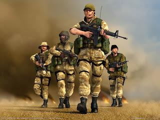 Conflict Desert Storm 2 Back to Baghdad Wallpaper