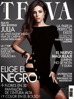 Revistas abril 2014: Telva