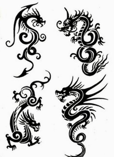 Dragon Tattoos Idea