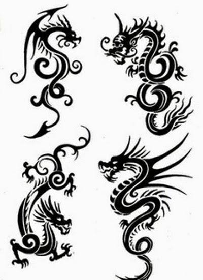 Dragon Tattoos Idea