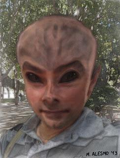 Cabeza alienígena