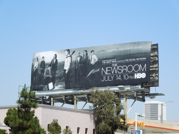 Newsroom Season 2 billboard