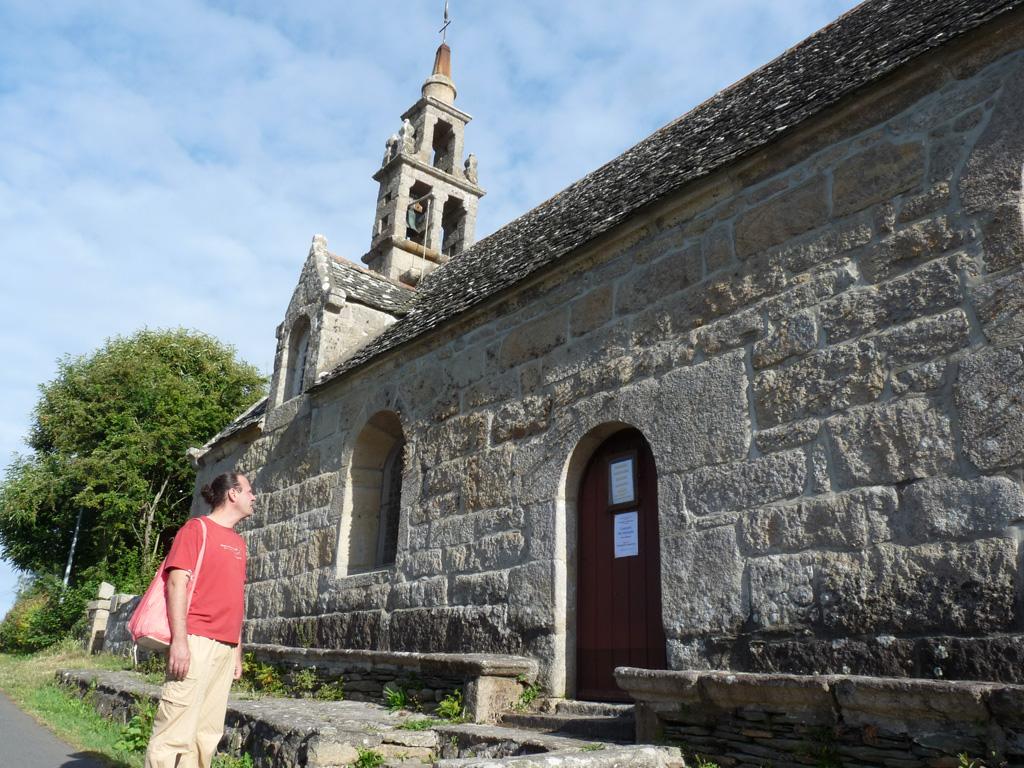 小さな16世紀の教会、聖ユゼック chapelle Saint-Uzec