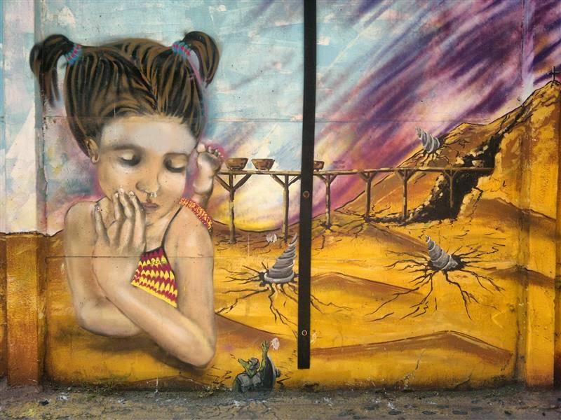 Santiago de Chile - Graffiti