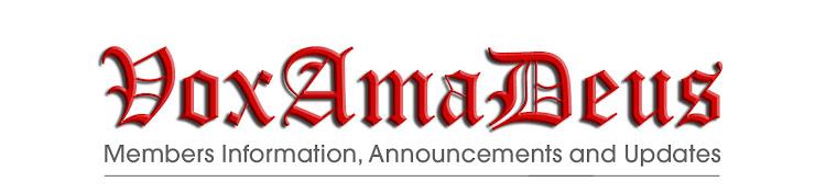 Vox Ama Deus Members Info