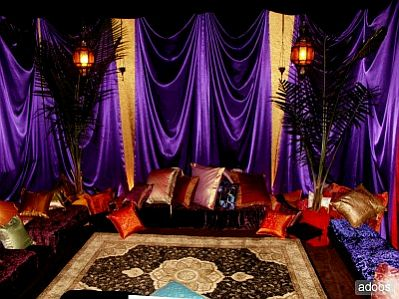 Decoracion de fiestas arabes parte 3 for Arabian nights decoration ideas