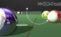 online Billiards flash 3d