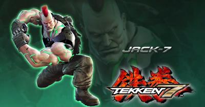 Jack7 si aggiunge al roster di Tekken7