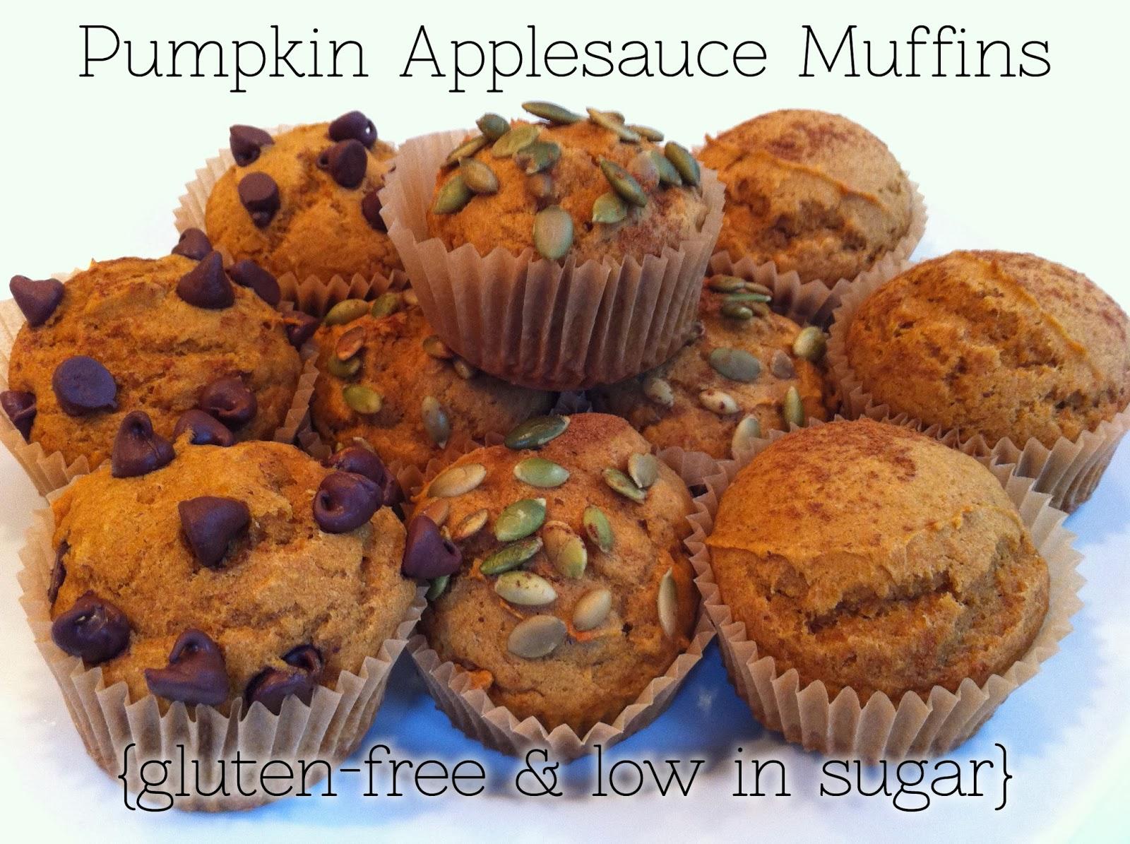 eco ike: pumpkin applesauce muffins