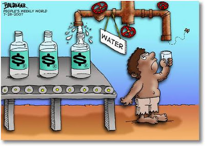 Κόβουν το νερό από τους ανέργους για να βγάλουν λεφτά οι Μπομπολαίοι.