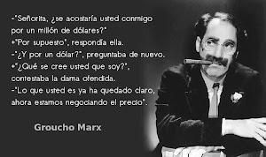 SEGÚN EL INGENIOSO GROUCHO MARX