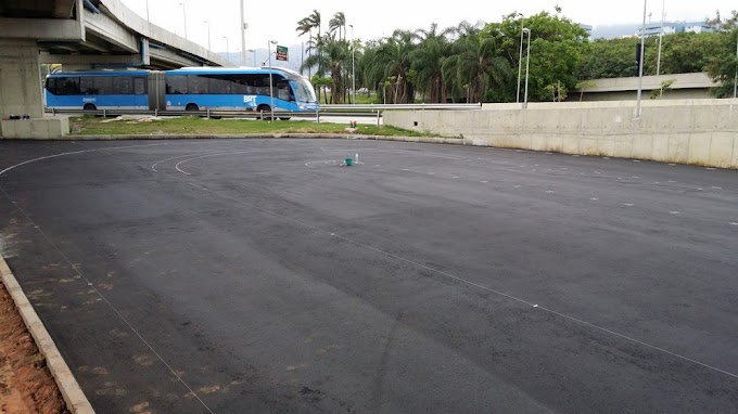 Mini Autódromo (17): marcação da pista