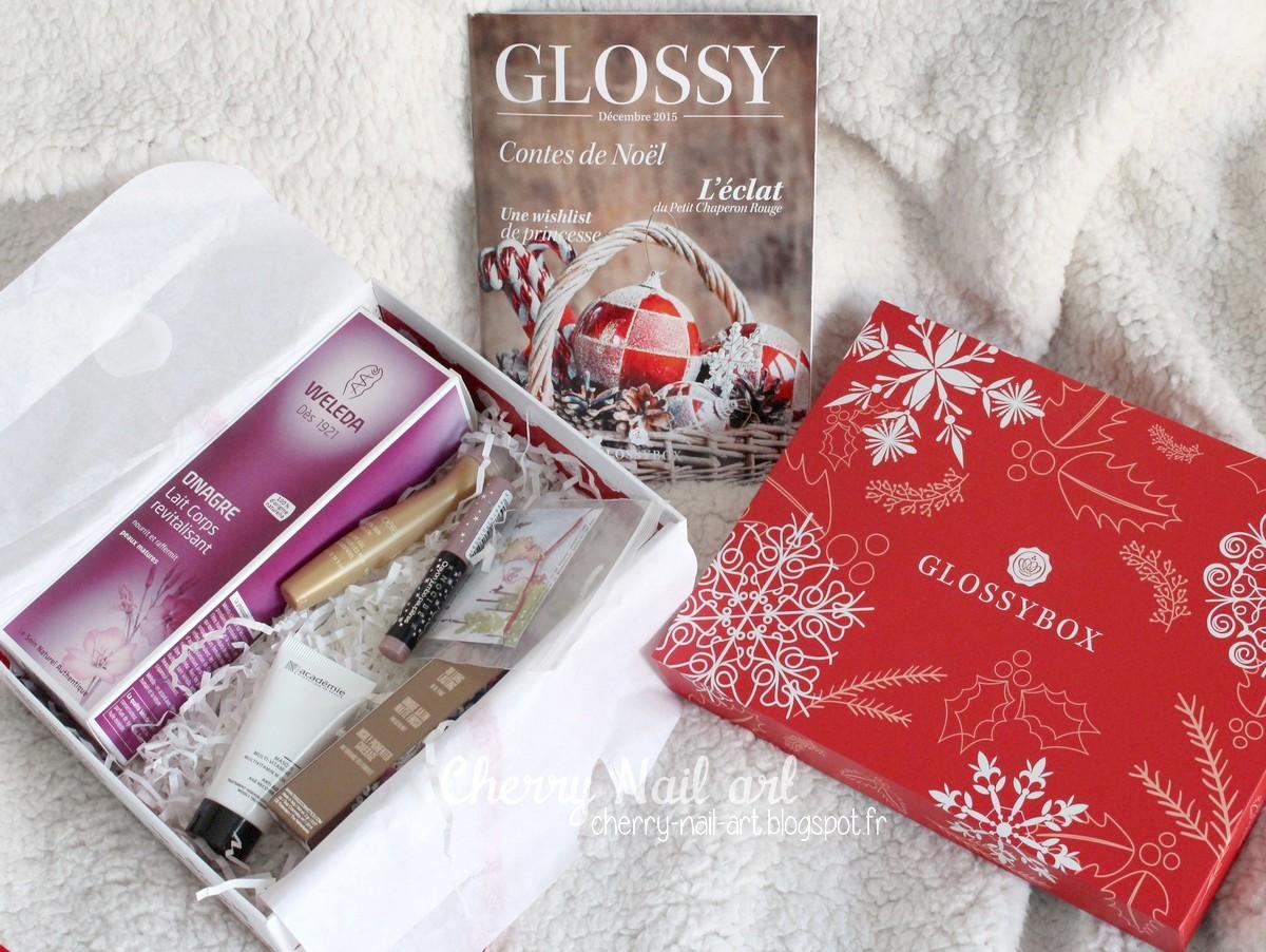 glossybox decembre 2015 contes de noel