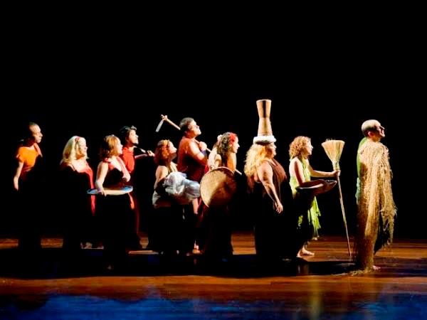 Espetáculo 'Travessia' mistura música e teatro durante festival de inverno de Campina Grande