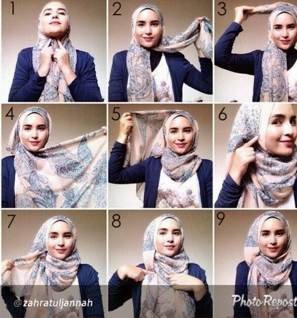 Hijab-tutorial