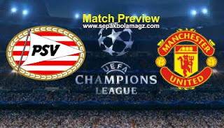 Preview PSV Eindhoven vs Manchester United